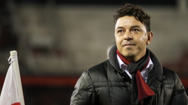 Marcelo Gallardo, en el Monumental