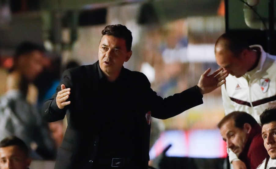 Marcelo Gallardo, director técnico de River(EFE)