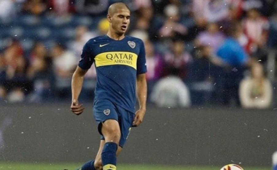 Santiago Ramos Mingo es defensor central y juega en la Reserva de Boca. Foto: Prensa Boca