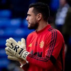 Chiquito Romero fue titular en Manchester United