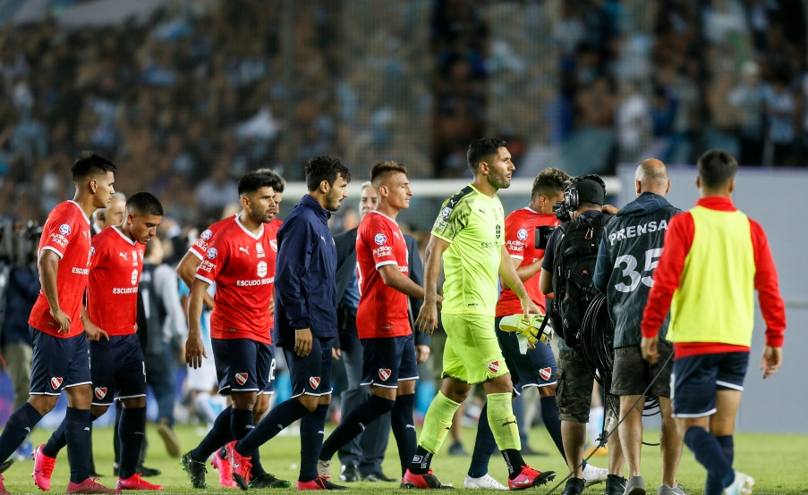 Independiente en el clásico ante Racing(Fotobaires)