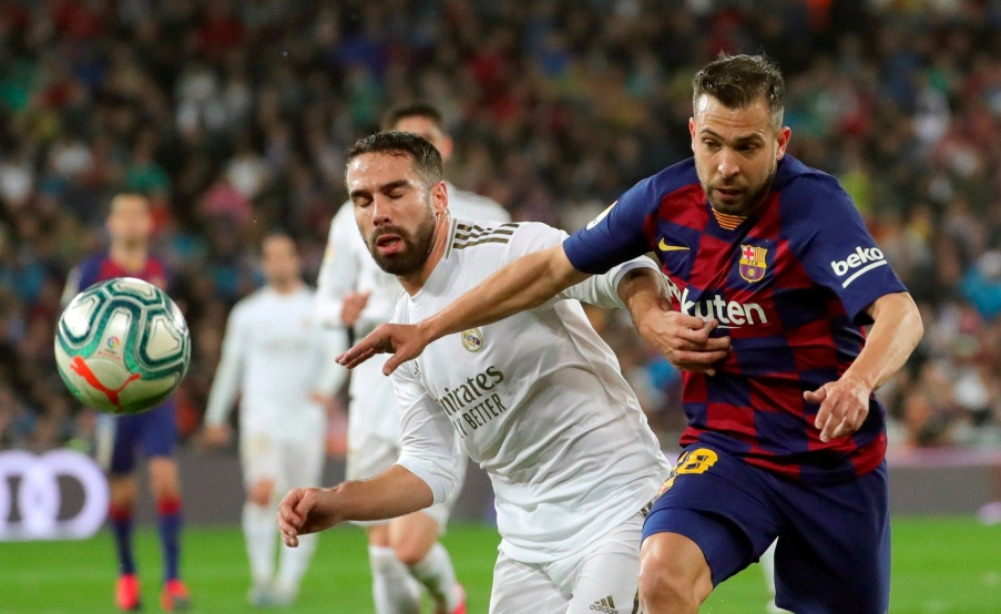 Dani Carvajal pidió suspender todo el fútbol en España. Foto: EFE(EFE, EFE)