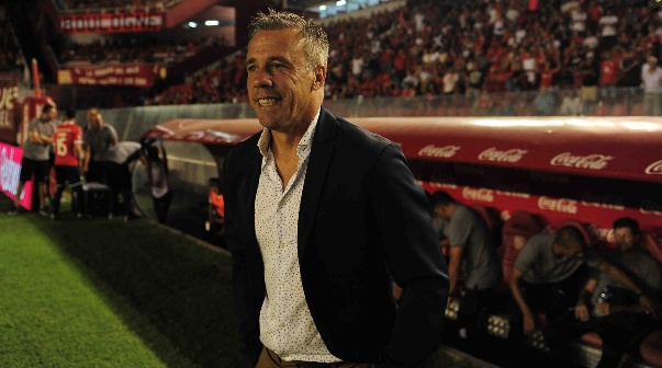 Lucas Pusineri, entrenador de Independiente
