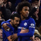 Pedro y Willian se despidieron de Chelsea