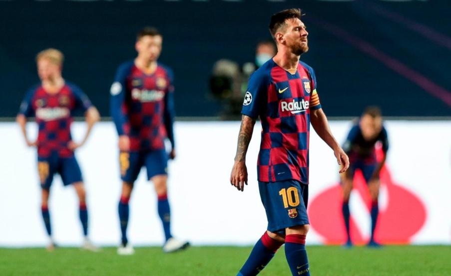 Lionel Messi evalúa su futuro tras la decepción en la Champions League(EFE)