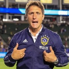 Guillermo Barros Schelotto en LA Galaxy