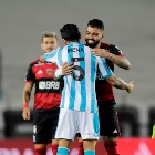 Gabigol en Racing vs. Flamengo