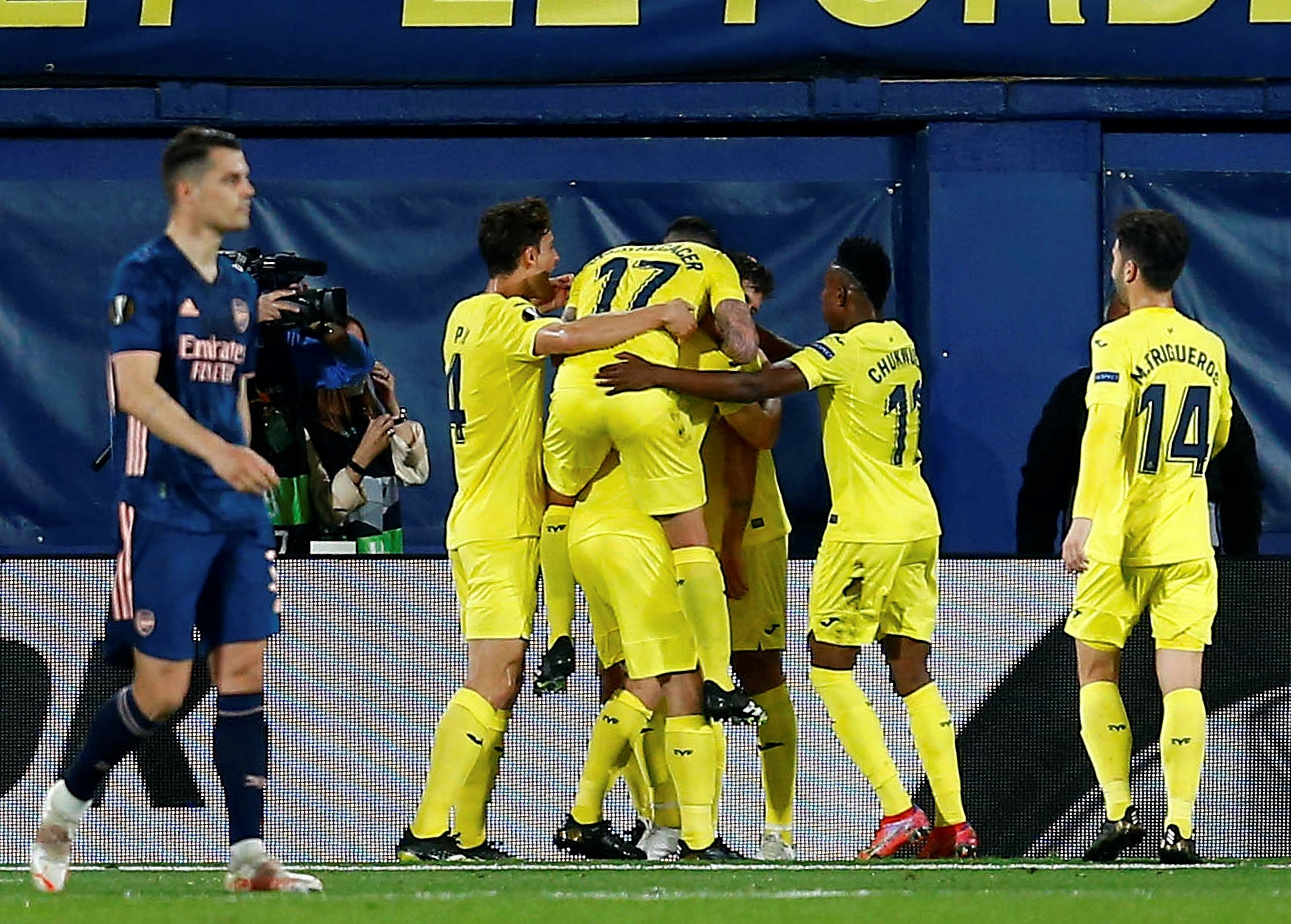 Villarreal, finalista de la Europa League