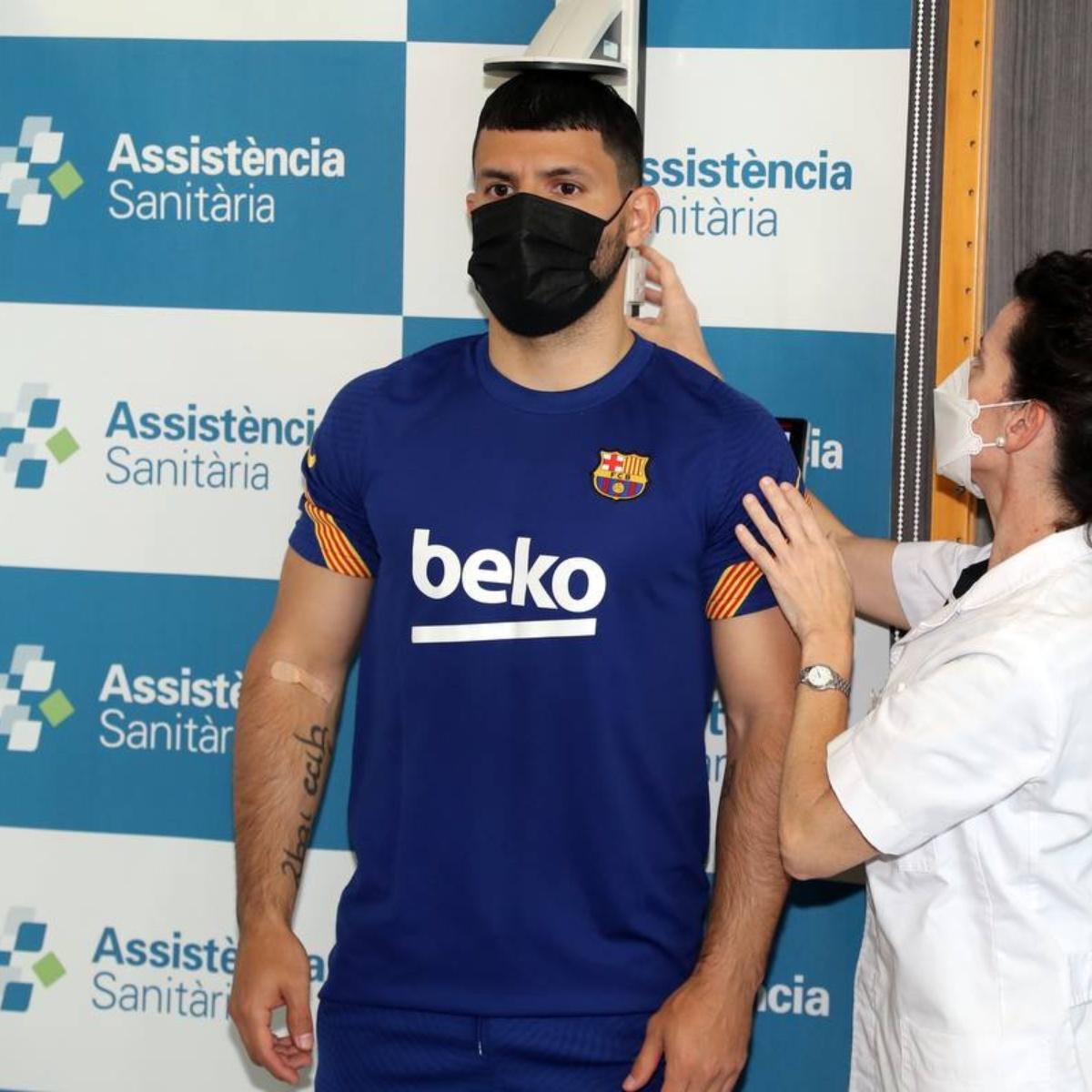 """Las primeras declaraciones del Kun Agüero luego de ser refuerzo de Barcelona:  """"Es el mejor equipo del mundo""""   TNT Sports"""