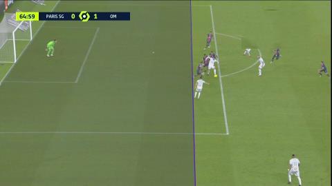 PSG perdió un clásico caliente vs. Olympique de Marsella: Acusaron a Di María de escupir a un rival y el increíble gol que le anularon a Pipa Benedetto | TNT Sports