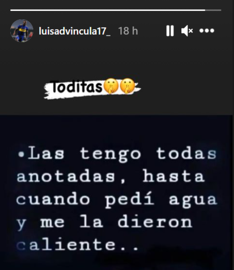 El posteo de Luis Advíncula